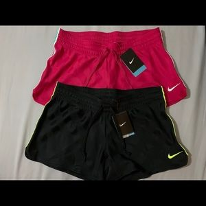 Two Pair of Nike Women's Size Med. Dri-Fit Shorts